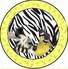 Cebra Zou: Imprimibles y Etiquetas para Candy Bar Gratis.