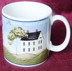 Sakura - Warren Kimble Home Sweet Home Folk Art Stoneware Mug Cup