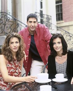 "Rachel is clearly not feeling it. | 12 Rare ""Friends"" Publicity Photos From 1994"