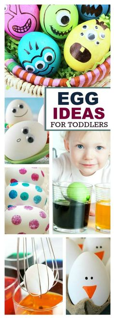 20 MESS-FREE WAYS TO DECORATE EGGS WITH KIDS.  These are fantastic!  {No more stained skin}