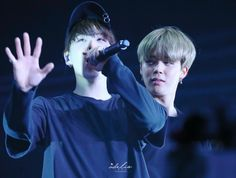 Suga and Jimin! Yoonmin~❤ BTS THE WINGS TOUR~ 2017 BTS Live Trilogy Episode lll In Hong Kong~ (170513-14) #BTS #방탄소년단