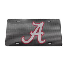 Mississippi State Bulldogs NCAA Rico Industries  Laser Cut Inlaid Standard Chrome License Plate Frame