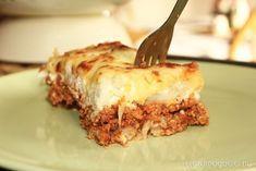 szenhidratcsokkentett-rakott-karfiol Cheddar, Healthy Sweets, Vegan, Lasagna, Clean Eating, Food And Drink, Lunch, Dinner, Ethnic Recipes