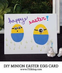DIY Minion Easter Eg