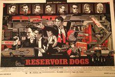 Genial póster de Reservoir Dogs