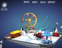 Design of my portfolio, inspired in and winter World Of Fantasy, My Portfolio, I Decided, Maya, Colorful, Cold, Create, My Style, Winter