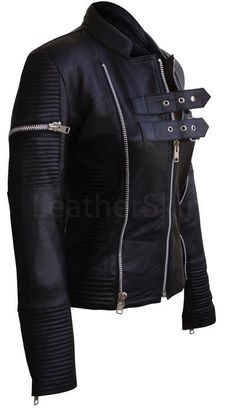 Leather Skin Shop is the only online store that offers Real Genuine Leather Jackets for Women of all ages. Leather Skin, Black Leather, Vegan Leather Jacket, Leather Jackets, Androgynous Look, Long Cocktail Dress, Looks Chic, Look Cool, Leather Fashion