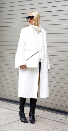 Style...Celine Aagaard // hippiehippiemilkshake // black and white fall-winter style