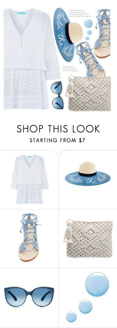 """""""Easy Peasy: Throw-and-Go Dresses"""" by fattie-zara ❤ liked on Polyvore featuring Melissa Odabash, Cornetti, Mosevic, Topshop and easypeasy"""