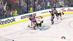 And I almost forgot how realistic NHL 15 was