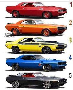 Vintage Cars Muscle Some Mopar hotness for y'all - Plymouth Muscle Cars, Dodge Muscle Cars, Custom Muscle Cars, Custom Cars, Us Cars, Sport Cars, Mopar, Supercars, Cb 750 Cafe Racer