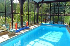 La petite Fougère - n°797 - à Marcilly sur Eure. Gîte 2 personnes en bordure de forêt avec piscine couverte et chauffée. Plus d'infos : http://www.gites-de-france-normandie.com/location-vacances-Gite-a-Marcilly-sur-eure-Eure-gites27_b2014.1.797.G.html
