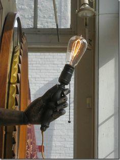 Hand Light: Steampunk hand light