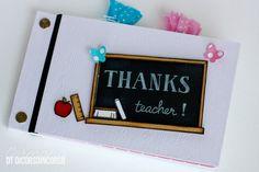 Ormai la scuola è agli sgoccioli.... mancano pochissimi giorni e i nostri bimbi inizieranno le vacanze estive.... ed è anche il momento dei regalini alle maestre...... e di album per salutarle prim...