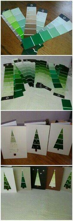 Though it still has some days before Christmas, you think a right time to think about choosing the Christmas gifts? We suggest that you DIY Christmas gifts instead of buying them in the shops because DIY projects can save money as well Diy Christmas Cards, Noel Christmas, Homemade Christmas, Winter Christmas, Christmas Decorations, Christmas Ornaments, Craft Decorations, Funny Christmas, Diy Christmas Wrapping Paper