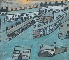 Houses at St.Ives - Alfred Wallis