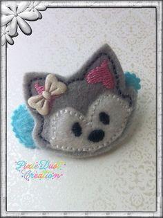 Husky Cutie Feltie Clip on Etsy, $2.91 CAD