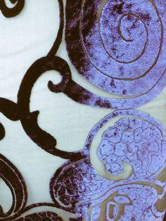 Velvet devorè in Silk by #pierlorenzobassetti via delle Botteghe Oscure 44 Roma