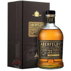 Aberfeldy 21 Years Whisky [0,7L|40%] - Prémium minőségű italok Liquor Bottles, Scotch, Whisky, Bourbon, Whiskey Bottle, 21st, Alcohol, Drinks, Bourbon Whiskey