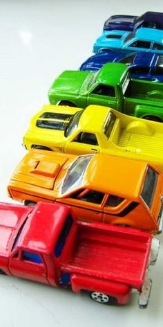 I love toy cars and trucks...I don't know why?