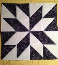 Quilt Square Patterns, Patchwork Quilt Patterns, Barn Quilt Patterns, Pattern Blocks, Big Block Quilts, Star Quilt Blocks, Amish Quilts, Barn Quilts, Scrappy Quilts