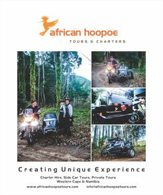 African Hoopoe Tours and Charters print advert. #design #graphicdesign #advertising