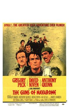 """""""The Guns of Navarone"""" (1961) - loved the book, loved the movie."""