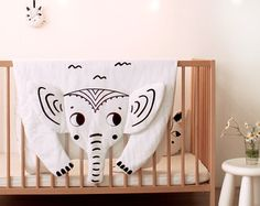 Bear blanket for baby 100 % cotton outside and hypoallergenic synthetic filler…