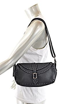 1d0f8d4976e1 Fendi Black Leather Shoulder Bag. Get one of the hottest styles of the  season! Tradesy