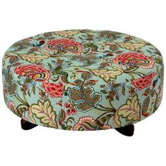 I pinned this Flora Round Ottoman from the Bedlow Park event at Joss and Main!