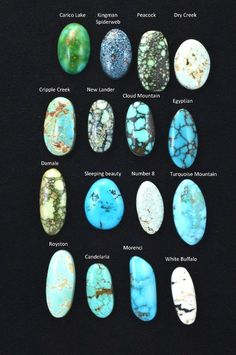 Minerals and gemstones - Natural Mix Turquoise Lot Cab Cabochon – Minerals and gemstones Minerals And Gemstones, Rocks And Minerals, Loose Gemstones, Crystal Healing Stones, Stones And Crystals, Quartz Crystal, Turquoise Stone, Turquoise Jewelry, Turquoise Bracelet