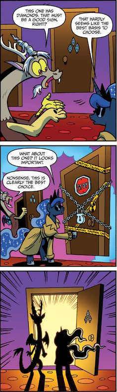 #975830 - discord, idw, princess luna, safe, spoiler:comic - Derpibooru - My Little Pony: Friendship is Magic Imageboard