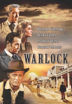 """""""WARLOCK"""" (1959) - my favourite Western. FRANK GORSHIN had one of his best supporting roles but was unfortunately left out of the credits."""
