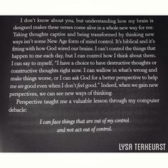 Excerpt from Unglued by Lysa TerKeurst
