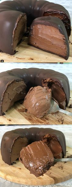 Chocolate Mousse Desserts Delicious Food Ideas For 2019 Just Desserts, Dessert Recipes, Mousse Dessert, Love Food, Sweet Recipes, Food Porn, Food And Drink, Cooking Recipes, Yummy Food