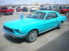 1967 Ford Mustang Frost Turquoise