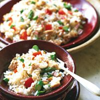 Rice Salad with Chicken and Asparagus - Italian Recipes - Delish.com