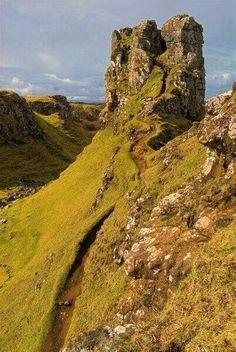 Fairy Glenn, Isle of Skye, Scotland