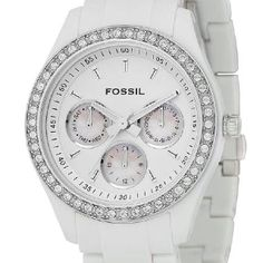 White fossil watch....check