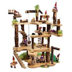 Wooden Tree Fort Super Saver | Wooden Toys | Magic Cabin