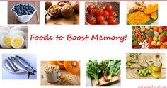 foods to boost memory  Visit us on goimprovememory.com  Via  google images  #memory #memorys #memorylane #memorybox #memoryfoam #memories #memoryloss #improvememory #memoryday #memoryhelp #memorybook