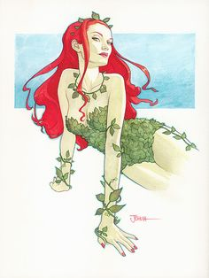 Look, but don't touch- Poison Ivy