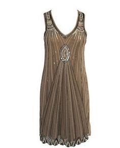 twenties style beaded dress-love it! 20s Fashion, Fashion Dresses, Vintage Dresses, Vintage Outfits, Vintage Clothing, Gowns Of Elegance, Elegant Gowns, Classy Women, Classy Lady