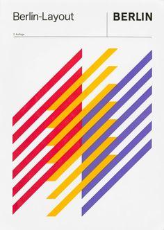 Deutsche Bank logo- Anton Stankowski Cover to the manual for Stankowski's Berlin Layout scheme – The first visual identity created for a city, 1968 Max Bill, Deutsche Bank Logo, Buch Design, Design Art, 80s Design, Design Layouts, Design Bauhaus, International Typographic Style, International Style