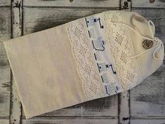 Natural linen bread bag hand woven raw linen by AlzbetkaDesigns Cross Stitch Embroidery, Hand Embroidery, Cross Stitch Patterns, Bread Bags, Natural Linen, Hand Weaving, Crochet Hats, Pdf, Chart