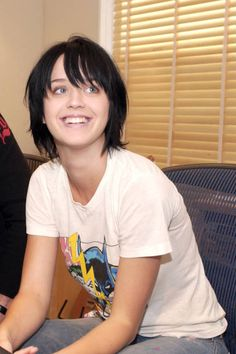 Young Katy Perry. How cute is she?