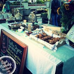 Selling Baked Goods at the Farmer's Market http://ourfarmjourney.com/vermont-farmers-markets/