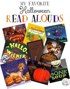 My Favorite Halloween Read ALouds {3rd Grade Thoughts}