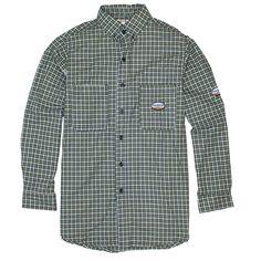 948da8b4123a Shirts 175630  Rasco Fr Men S Flame Resistant Green Plaid Work Shirt Nfpa  2112 -  BUY IT NOW ONLY   38.46 on eBay!