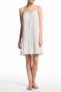 Katuri Hand Embellished Silk Dress   | Calypso St. Barth